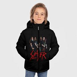 Куртка зимняя для мальчика Slayer Band цвета 3D-черный — фото 2