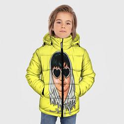 Куртка зимняя для мальчика Joji Love цвета 3D-черный — фото 2