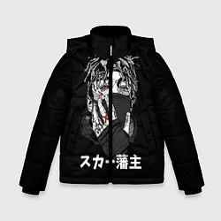 Куртка зимняя для мальчика Scarlxrd: hieroglyphs - фото 1