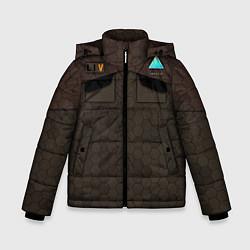 Куртка зимняя для мальчика Detroit: Delivery Man цвета 3D-черный — фото 1