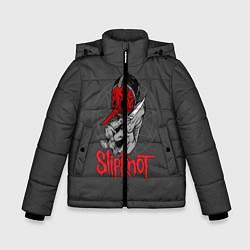 Куртка зимняя для мальчика Slipknot Chris Fehn цвета 3D-черный — фото 1
