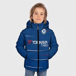 Куртка зимняя для мальчика FC Chelsea Home 18-19 цвета 3D-черный — фото 2