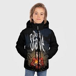 Куртка зимняя для мальчика Willow Halloween цвета 3D-черный — фото 2
