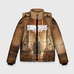Куртка зимняя для мальчика Far Cry 5 цвета 3D-черный — фото 1