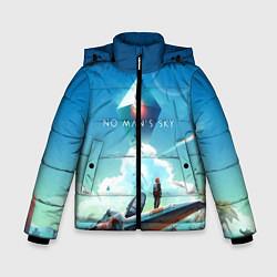 Куртка зимняя для мальчика No Man's Sky: Atlas Rises цвета 3D-черный — фото 1