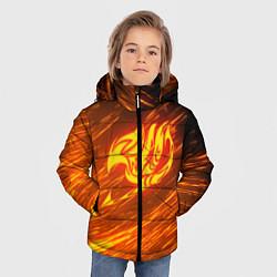 Куртка зимняя для мальчика NATSU DRAGNEEL цвета 3D-черный — фото 2