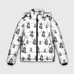 Куртка зимняя для мальчика Drake - six цвета 3D-черный — фото 1
