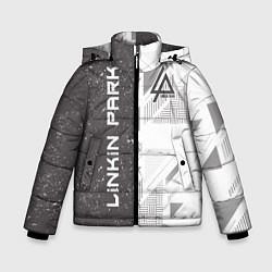 Куртка зимняя для мальчика Linkin Park: Grey Form цвета 3D-черный — фото 1