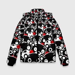Куртка зимняя для мальчика Kumamons цвета 3D-черный — фото 1