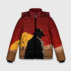 Куртка зимняя для мальчика RDR 2: Dark Man цвета 3D-черный — фото 1
