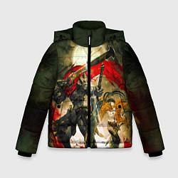 Куртка зимняя для мальчика Momonga Narberal Gamma цвета 3D-черный — фото 1