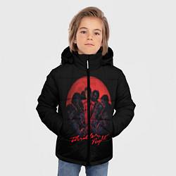 Куртка зимняя для мальчика Michael Jackson: Thriller цвета 3D-черный — фото 2