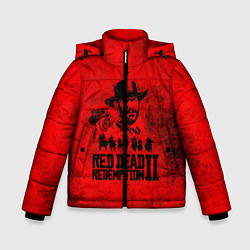 Куртка зимняя для мальчика Redemption is Dead цвета 3D-черный — фото 1