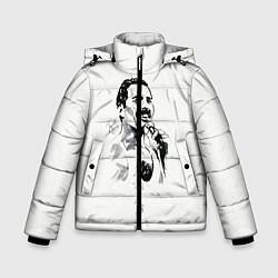 Куртка зимняя для мальчика Фредди Меркьюри цвета 3D-черный — фото 1