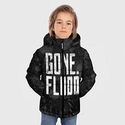 Куртка зимняя для мальчика GONE Fludd Dark цвета 3D-черный — фото 2