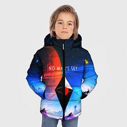 Куртка зимняя для мальчика No Man's Sky: Galaxy цвета 3D-черный — фото 2