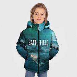 Куртка зимняя для мальчика Battlefield: Sea Force цвета 3D-черный — фото 2