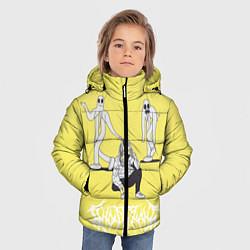 Куртка зимняя для мальчика Ghostemane Mercury цвета 3D-черный — фото 2