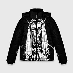 Куртка зимняя для мальчика Ghostemane: Devil цвета 3D-черный — фото 1