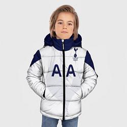 Куртка зимняя для мальчика ФК Тоттенхэм цвета 3D-черный — фото 2