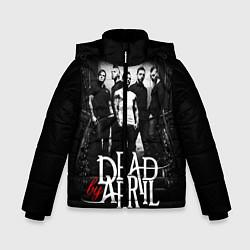 Куртка зимняя для мальчика Dead by April: Dark Rock цвета 3D-черный — фото 1
