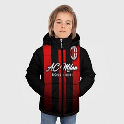 Куртка зимняя для мальчика AC Milan цвета 3D-черный — фото 2
