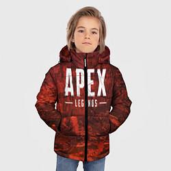 Куртка зимняя для мальчика Apex Legends: Boiling Blood цвета 3D-черный — фото 2