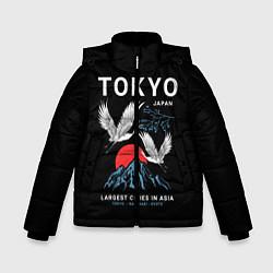 Детская зимняя куртка для мальчика с принтом Tokyo, цвет: 3D-черный, артикул: 10172524706063 — фото 1