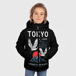 Куртка зимняя для мальчика Tokyo цвета 3D-черный — фото 2