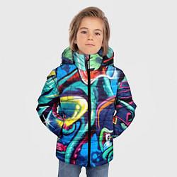 Куртка зимняя для мальчика Street Fashion цвета 3D-черный — фото 2