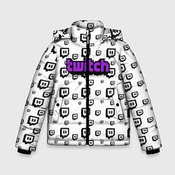 Куртка зимняя для мальчика Twitch Online цвета 3D-черный — фото 1