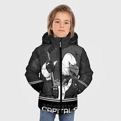 Куртка зимняя для мальчика Washington Capitals: Mono цвета 3D-черный — фото 2