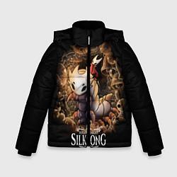 Куртка зимняя для мальчика Hollow Knight: Silksong цвета 3D-черный — фото 1