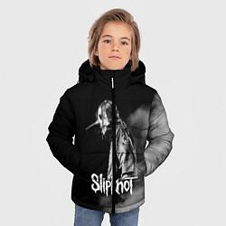 Куртка зимняя для мальчика Slipknot: Shadow Smoke цвета 3D-черный — фото 2