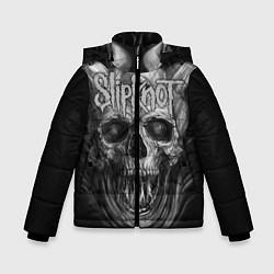 Куртка зимняя для мальчика Slipknot: Devil Skull цвета 3D-черный — фото 1