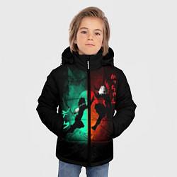 Детская зимняя куртка для мальчика с принтом No Hero Academia, цвет: 3D-черный, артикул: 10181198506063 — фото 2