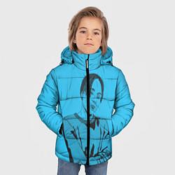 Детская зимняя куртка для мальчика с принтом T-Fest, цвет: 3D-черный, артикул: 10182183106063 — фото 2