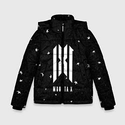 Детская зимняя куртка для мальчика с принтом MONSTA X, цвет: 3D-черный, артикул: 10184586506063 — фото 1