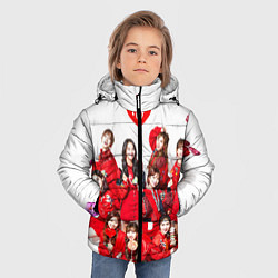 Куртка зимняя для мальчика TWICE цвета 3D-черный — фото 2