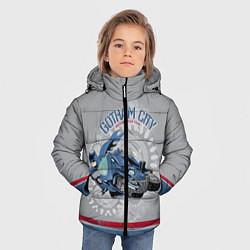 Куртка зимняя для мальчика Gotham City Motorcycle Club цвета 3D-черный — фото 2