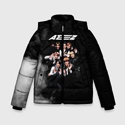 Куртка зимняя для мальчика Ateez цвета 3D-черный — фото 1