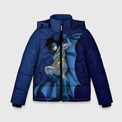 Куртка зимняя для мальчика Batman, Justice League цвета 3D-черный — фото 1