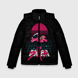 Куртка зимняя для мальчика Akirа цвета 3D-черный — фото 1