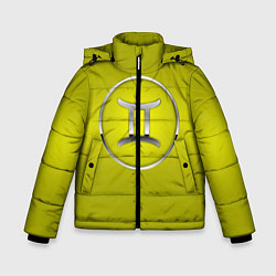 Куртка зимняя для мальчика Gemini Близнецы цвета 3D-черный — фото 1
