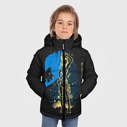 Куртка зимняя для мальчика Fairy Tail цвета 3D-черный — фото 2