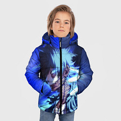 Детская зимняя куртка для мальчика с принтом Моя Геройская Академия, цвет: 3D-черный, артикул: 10200479506063 — фото 2
