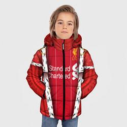 Куртка зимняя для мальчика King liverpool цвета 3D-черный — фото 2