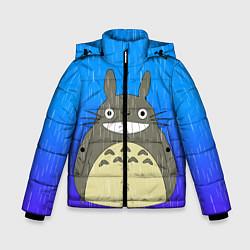Куртка зимняя для мальчика Мой сосед Тоторо цвета 3D-черный — фото 1