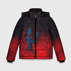 Куртка зимняя для мальчика Скриптонит - фото 1
