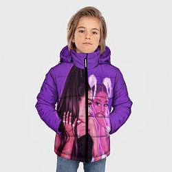 Куртка зимняя для мальчика Ariana Grande Ариана Гранде цвета 3D-черный — фото 2